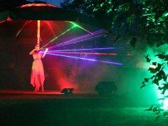 Mona Seebohm Laserviolinshow - Juli 2019, Sommerhighlight