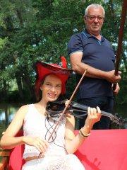 Kahnfahrt mit Mona Seebohm